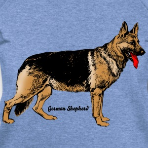 Dog German Shepherd T-Shirts - Women's Wideneck Sweatshirt