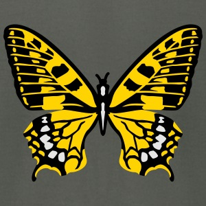 Butterfly yellow Hoodies - Men's T-Shirt by American Apparel