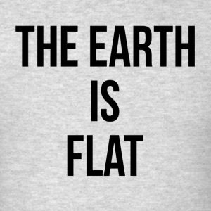 THE EARTH IS FLAT Sportswear - Men's T-Shirt