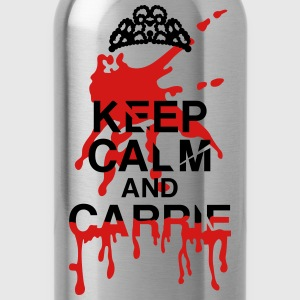 keep calm Carrie Hoodies - Water Bottle