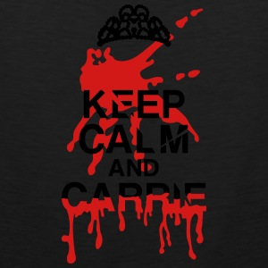keep calm Carrie Hoodies - Men's Premium Tank