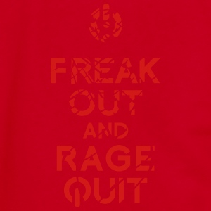keep calm rage quit T-Shirts - Unisex Fleece Zip Hoodie by American Apparel