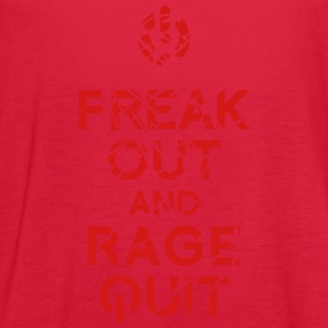 keep calm rage quit T-Shirts - Women's Flowy Tank Top by Bella