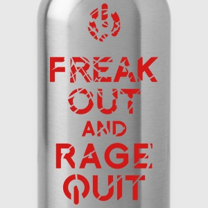 keep calm rage quit T-Shirts - Water Bottle
