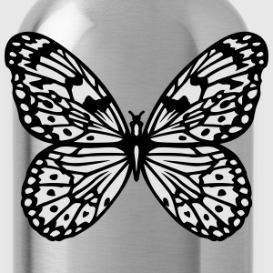 Butterfly black and white T-Shirts - Water Bottle