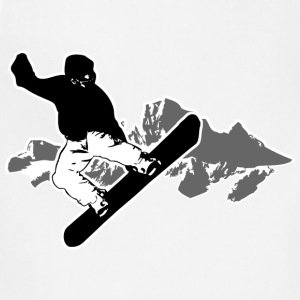 Snowboarding  T-Shirts - Adjustable Apron
