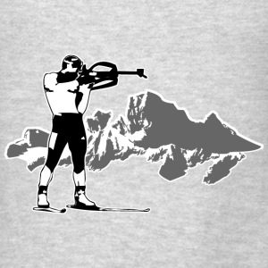 Biathlon Hoodies - Men's T-Shirt