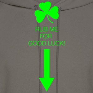 Rub Me for Good Luck - Men's Hoodie