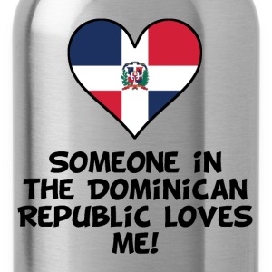 Someone In the Dominican Republic Loves Me - Water Bottle
