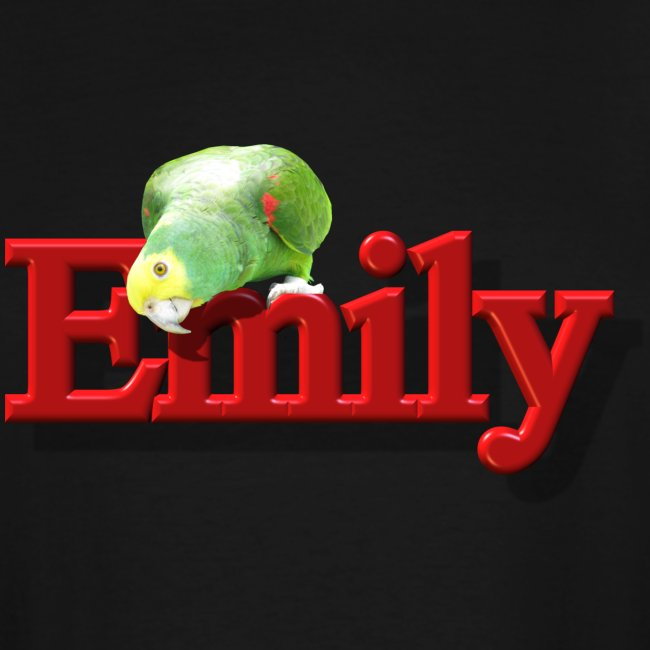 Emily With a Parrot