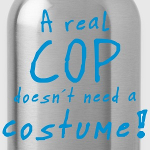 a real cop costume T-Shirts - Water Bottle