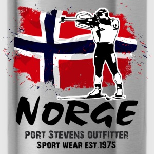 Biathlon - Norway Flag Hoodies - Water Bottle