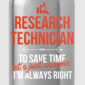 Research technician - Research technician. To save - Water Bottle