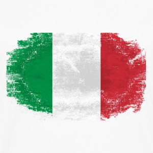 Italy Flag T-Shirts - Men's Premium Long Sleeve T-Shirt