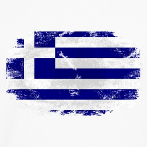 Greece Flag T-Shirts - Men's Premium Long Sleeve T-Shirt