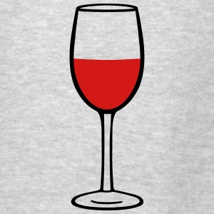 Wine glass Hoodies - Men's T-Shirt