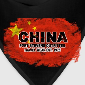 China Flag T-Shirts - Bandana