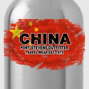 China Flag T-Shirts - Water Bottle