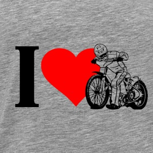 I love Speedway Hoodies - Men's Premium T-Shirt