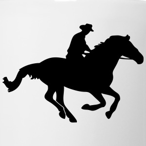 Western Riding - Cowboy T-Shirts - Coffee/Tea Mug
