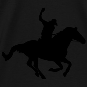 Western Riding - Cowboy Hoodies - Men's Premium T-Shirt