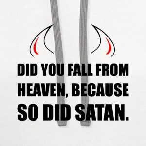 Fall From Heaven Satan - Contrast Hoodie