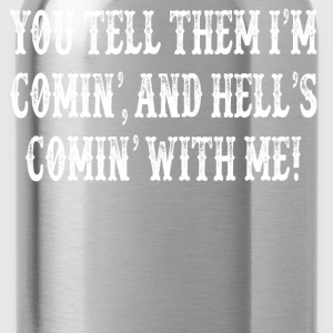 Tombstone Quote T-Shirts - Water Bottle
