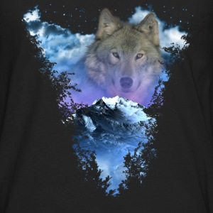 Wolf Moutain Baby Bodysuits - Men's Premium Long Sleeve T-Shirt