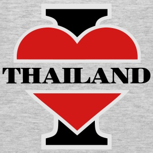 I love Thailand Hoodies - Men's Premium Long Sleeve T-Shirt