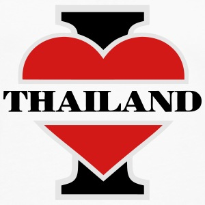 I love Thailand T-Shirts - Men's Premium Long Sleeve T-Shirt