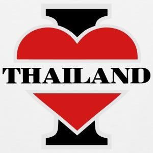 I love Thailand T-Shirts - Men's Premium Tank