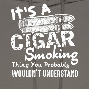 Cigar Lovers Tee Shirt - Men's Hoodie