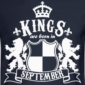 Kings are born in September - Men's Long Sleeve T-Shirt