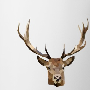 Deer-Head Polygon - Coffee/Tea Mug