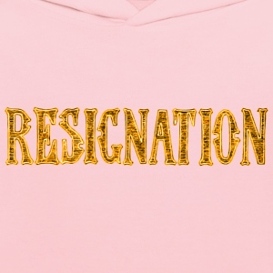 Noble characteristic typography resignation - Kids' Hoodie