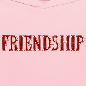 Noble characteristic typography friendship - Kids' Hoodie