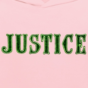 Noble characteristic typography justice - Kids' Hoodie
