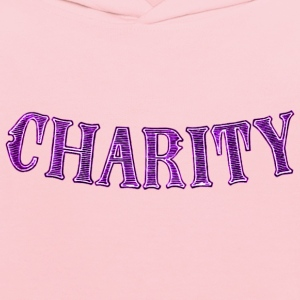 Noble characteristic typography charity - Kids' Hoodie