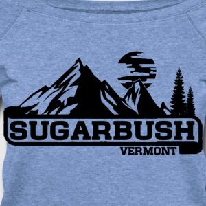 Sugarbush T-Shirts - Women's Wideneck Sweatshirt