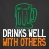 Drinks Well With Others T-Shirts - Men's 50/50 T-Shirt