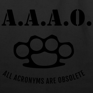 A.A.A.O. Hoodies - Eco-Friendly Cotton Tote