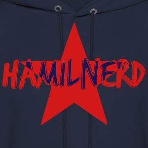 HAMILNERD STAR Long Sleeve Shirts - Men's Hoodie