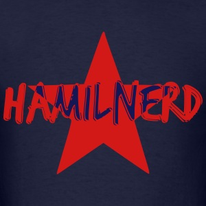 HAMILNERD STAR Long Sleeve Shirts - Men's T-Shirt
