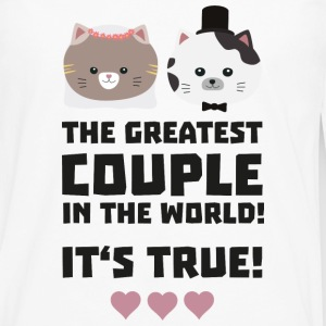 Greatest Couple in the World Its true U3j3h Mugs & Drinkware - Men's Premium Long Sleeve T-Shirt