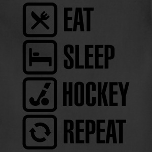 Eat Sleep Hockey Repeat T-Shirts - Adjustable Apron