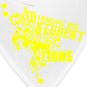 MARSHALL HIGH STUDENT COUNCIL LIONS - Bandana