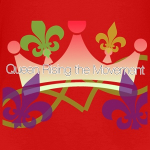 QUEEN RISING FLEUR DE QUEEN TOTEBAG - Toddler Premium T-Shirt