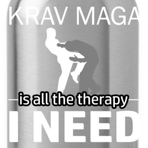 Krav Maga is my therapy - Water Bottle