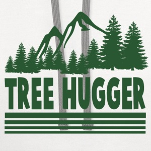 tree 2326.png T-Shirts - Contrast Hoodie