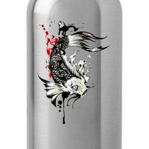 koi fish - Water Bottle